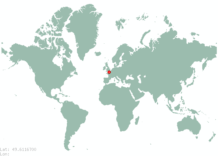 Luxembourg in world map